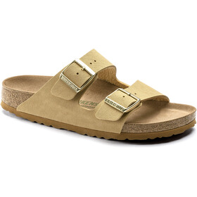 Birkenstock Arizona Sandals Birko-Flor Birkibuc Earthy Vegan Narrow, latte cream